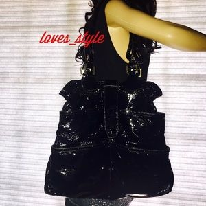 CHLOE Black Patent Leather Bag
